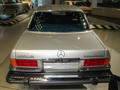 Mercedes-Benz Museum 2015 (141) (Thomas Becker) Tags: auto usa history classic car museum vintage germany geotagged deutschland mercedes benz automobile diesel stuttgart voiture historic collection turbo mercedesbenz bil vehicle oldtimer daimler fahrzeug bumpers historie iphone geschichte lkw sclass youngtimer automobil badenwürttemberg 汽车 pkw sklasse turbodiesel 300sd worldcars 150208 aviationphoto iphone6 geo:lat=487881450 geo:lon=92339820