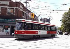 TTC 4004, Toronto, August 17, 2007 (railfan 44) Tags: toronto ttc transit streetcar