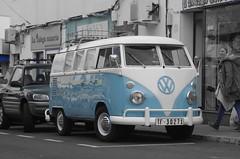 Blue on the streets (Sundornvic) Tags: blue colour vw volkswagen fuerteventura blues camper combi splitscreen canaryisles