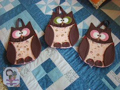 CoRuJas...lixeirinhas (Ma Ma Marie Artcountry) Tags: coruja portatreco lixeiraparacarro lixeiradecarro corujalixeiraparacarro