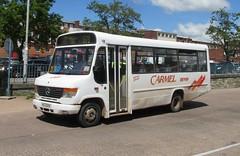 KIG2325, Exeter, 14/05/14 (aecregent) Tags: mercedes exeter carmel 679 vario 140514 carmelcoaches o814 kig2325