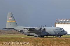 C130H HERCULES 93-7311 USAF WYOMING ANG (shanairpic) Tags: military usaf c130 lockheedhercules wyomingang 937311