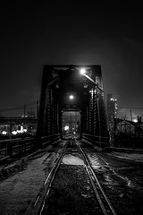 Bridges of Detroit County #Detroit #Bridge #Night #Winter #BlackAndWhite #BnW #DetroitBlackAndWhite #NightLights #ZugIsland #PureMichigan #BewareOfHomelandSecurity #TrainTracks #NightMoves (kallyone) Tags: bridge winter blackandwhite night nightlights detroit traintracks bnw nightmoves zugisland puremichigan detroitblackandwhite bewareofhomelandsecurity