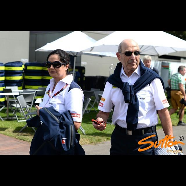 @sauberf1team Team Principal #MonishaKaltenborn and Team Owner #PeterSauber #AusGP #F1 #AusGP