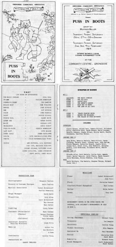 1984 Puss in Boots 00 Programme