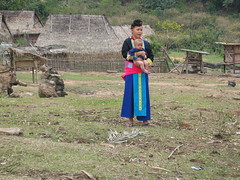 Akha Mother and Infant