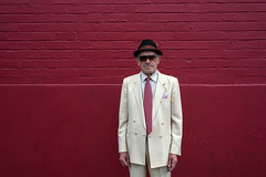 Yarraville (Westographer) Tags: portrait hat sunglasses suburbia streetportrait australia melbourne yarraville westernsuburbs suittie