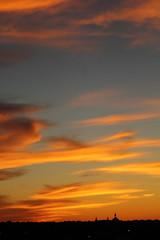 Sunset 6 20 2016 037 (Az Skies Photography) Tags: grand rapids michigan mi grandrapids grandrapidsmi sun set sunset dusk twilight nightfall sky skyline skyscape cloud clouds red orange yellow gold golden salmon black canon eos rebel t2i canoneosrebelt2i eosrebelt2i june 20 2016 june202016 62016 6202016