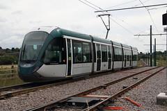 Tram 227 Toton, Nottingham (Paul Emma) Tags: uk england nottingham toton railway railroad tram 204 227