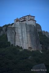 Meteora - Rousnou Monastery (Rolandito.) Tags: greece griechenland grecia grce hellas meteora rousnou monastery kloster