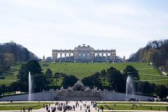Schonbrunn (GiuliaGaroni) Tags: schnbrunn vienna garden landscape nikon platz hill panoramic wie schloss paesaggio gloriette