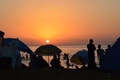 Aftis's sunset (Connexiondz photography) Tags: sunset beautiful beach algeria jijel