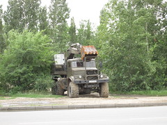 -4421 | -255 (stanislavkruglove) Tags: truck excavator 2016 pavlodar 4421   255