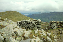 Hole in the wall (croslandadam) Tags: lake mountains district helvellyn egde striding
