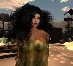 Took in the sights! (TierNLae) Tags: secondlife second life avatar virtual world fantasy art photography lumipro junk fashion female beauty attitude creativity