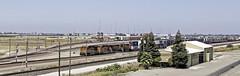Stockton Intermodal (lennycarl08) Tags: bnsf burlingtonnorthernsantafe burlingtonnorthernsantaferailroad trains railroad california eastbay centralvalley