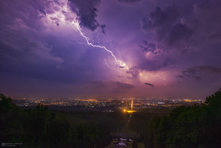 thundery night at kassel