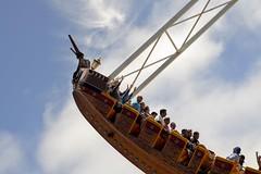 Pirate (J.S.Gonzalez) Tags: boat santa cruz beach walk day sunny fly pirate ship amusement park