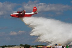 Martin Mars Water Bomber (Mike Miley) Tags: osh16 aircraft airplane airventure bomber eaa flyingboat martinbauer oshkosh seaplane vintage water wwii