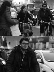 [La Mia Citt][Pedala] (Urca) Tags: milano italia 2016 bicicletta pedalare ciclista ritrattostradale portrait dittico nikondigitale mir bike bicycle biancoenero blackandwhite bn bw 872116