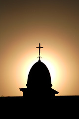 Sun-day (Wackelaugen) Tags: sunday light sun cross christian faith church silhouette backlight canon eos photo photography wackelaugen googlies stuttgart germany