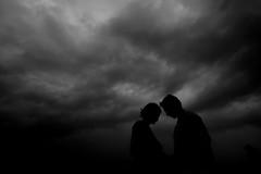 Silhouette Love (zayembin.tajdid) Tags: black white couple shoot pre wedding sky love lovely storm bangladesh bangladeshi cute canon wide 1018mm stm daytime silhouette