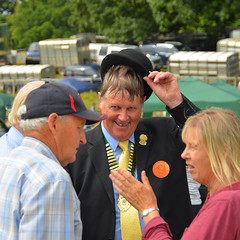 The Chairman (alderney boy) Tags: yealmpton yealmptonshow southhams kitley agriculturalshow devon farming showground chairman bowlerhat hat medallion sash