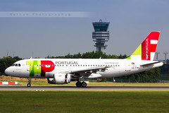 BRU - Airbus A319-111 (CS-TTB) TAP Air Portugal (Aro'Passion) Tags: bru ebbr bruxelles brussels csttb air portugal tap landing atterrissage reverse tower natw aropassion airport 60d canon airbus a319 a319111 photography photos