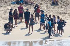 Malia Manuel Exits to Fans (Kevin MG) Tags: usa ca huntingtonbeach orangecounty socal vans beach ocean sea water fans girls boys surf surfboard surfers surfing usopen