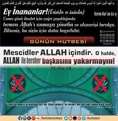 Cuma 9 09 (Oku Rabbinin Adiyla) Tags: allah kuran islam ayet ayetler hadisler religion bible cami cuma pray namaz mescid