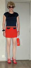 dress from ONZQ China (Dafnetv) Tags: tranvestite