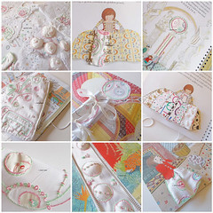 stitching a story (contemporary embroidery) Tags: mosaic storybook bok embroidery ledger design samples