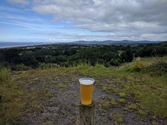 Gwrych Castle (deadmanjones) Tags: pint beer wildhorsebrewing gwrychcastle panorama view