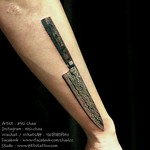Chef Knife Tattoo