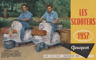 PEUGEOT Scooter Dealer Brochure Type S 57A, S57 B et S 157 B (France 1957)_1