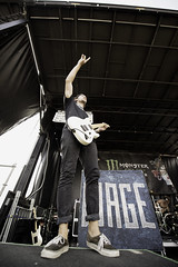 Wage War. (Charlie_Nunez) Tags: metal warpedtour vanswarpedtour vans monster energy monsterenergy wagewar wage war fearless records fearlessrecords