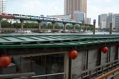 Tokyo Train Story  201689 (Tokutomi Masaki) Tags: 2016   tokyo japan train   monorail