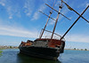 La Grande Hermine 1 (foxtail_1) Tags: lagrandehermine thebigweasel jordanharbour shipwreck