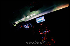 On the road (Krueger_Martin) Tags: night nacht light lights licht car auto road strase fahren goingbycar audi a6 audia6 innenraum interior colorful bokeh bunt beyoundbokeh 24mm farbig weitwinkel wideangle festbrennweite primelense canoneos5dmarkii canoneos5dmark2 canonef24mmf14lii red rot