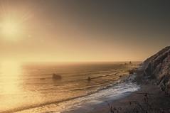sunburn (pat.netwalk) Tags: coast seascape california northcalifornia copyrightpatrickfrank sunburner sunburn waves rocks light