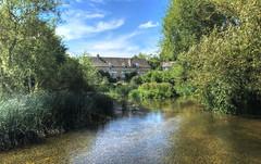 Wadenhoe Mill, Northamptonshire (Baz Richardson) Tags: northamptonshire wadenhoe wadenhoemill rivernene watermills gradeiilistedbuildings waterscapes