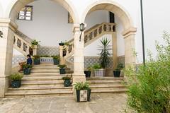 Guimares (karinevanderwerf) Tags: portugal guimares azulejo stair