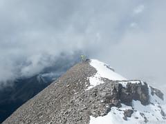 Ron on Snow Peak (David R. Crowe) Tags: landscape mountain nature outdooractivities scrambling kananaskis alberta canada
