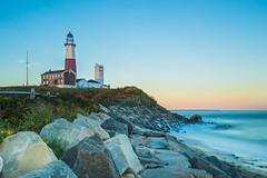 Montauk Lighthouse (Photos By RM) Tags: montauklighthouse montaukpointlight montauk lighthouse newyork longexposure filter leebigstopper ndgrad canon markiii evening travel