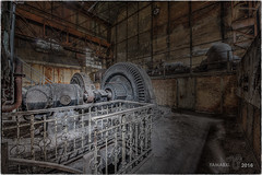 Towards the underbelly of the beast? (Yamabxl) Tags: abandoned abbandonato belgium wetdogs industry industrie industrial powerplant creepy decay derelict dereliction generators forgotten forbidden ghost hdr highdynamicrange hidden lostplaces prohibed prohib urbex urbanexploration urbexhdr verfall verlassen verlaten escaliers stairs