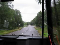 Buss 550, Alingsåsvägen, Sandhult, 2009