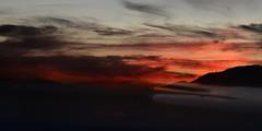 (Casey Lombardo) Tags: bigbear bigbearlake bigbearca bigbearlakeca lake lakes mountains nature sunset sunsets prism prismatic prisms ethereal dreamy dreamworld clouds cloudy skies burningsky burningskies sun mountain shadows reflection reflections
