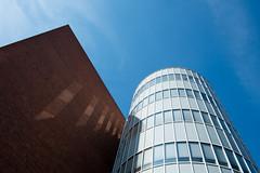 Opera House - I (photosam) Tags: fujifilm xe1 fujifilmx prime raw lightroom xf18mm12r xf18mmf2r sunny architecture modernist wide wideangle amsterdam noordholland netherlands