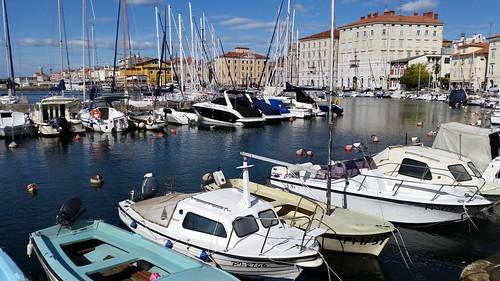 Piran : le port