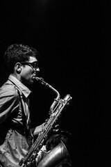 Sound (Krpathos) Tags: music musica sax sassofono saxofono bw monochrome monocromo
